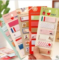 Retail  fresh korea stationery cartoon sticky n times stickers notes on paper memo pad  (KB-03)