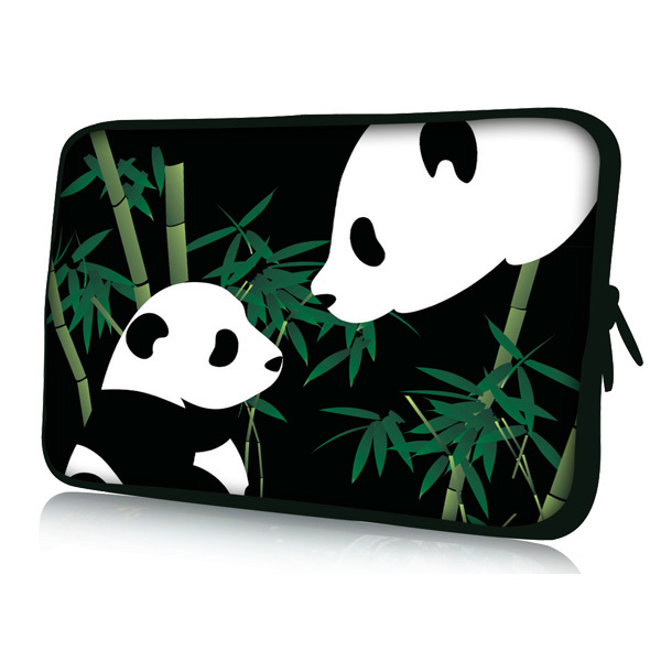 "Panda 7"" Sleeve Case Bag Cover Pouch Protector for 7"" HTC Flyer Tablet PC(China (Mainland))"