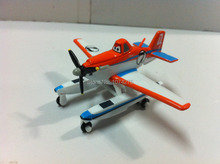Pixar Planes 2 Fire & Rescue Pontoon Dusty Metal Diecast Toy Plane 1:55 Loose New In Stock & Free Shipping(China (Mainland))