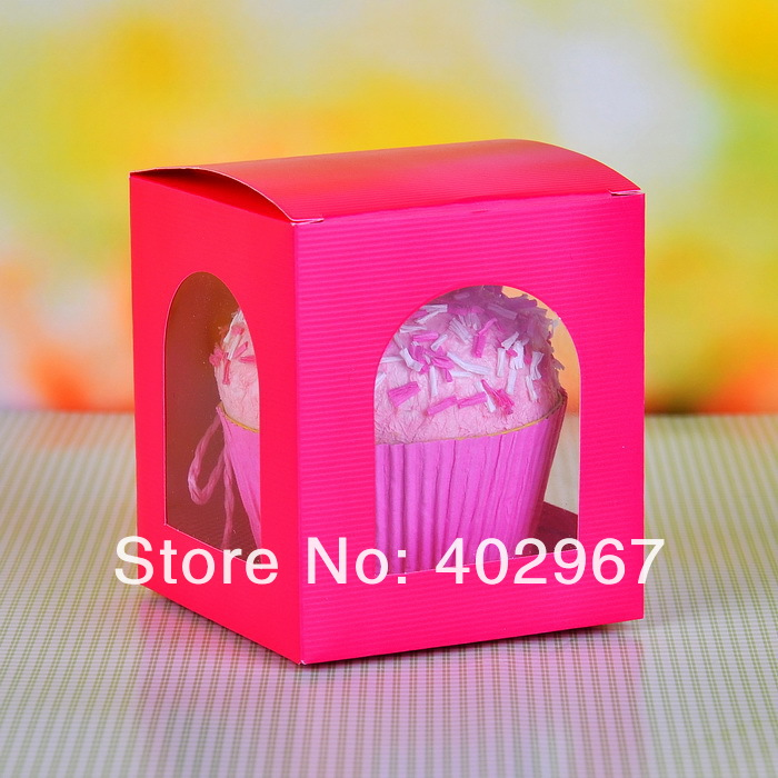 Wholesale 60pcs/lot Pie Cookie Paper holder Boxes, Mooncake Food baking cup cake boxes hold single cake(China (Mainland))