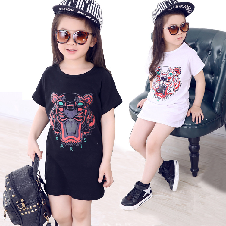 kids new girl clothes t-shirt 3 color baby choses cotton Cartoon girl tops china cheap top children t shirts(China (Mainland))