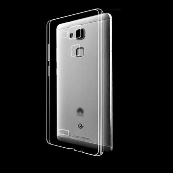 Sylikonowe etui dla Huawei Ascend G7 Mate 7 Y550 | przeźroczyste