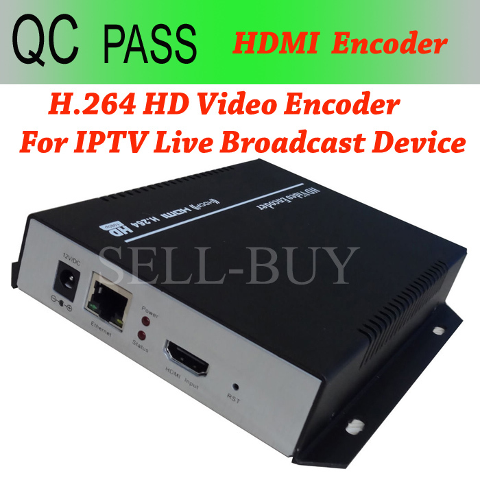 5pc/lot H.264 HD HDMI Encoder for IPTV Live Stream Broadcast Video Recording Encoder by RTMP HTTP RTSP for Wowza Media Server(China (Mainland))