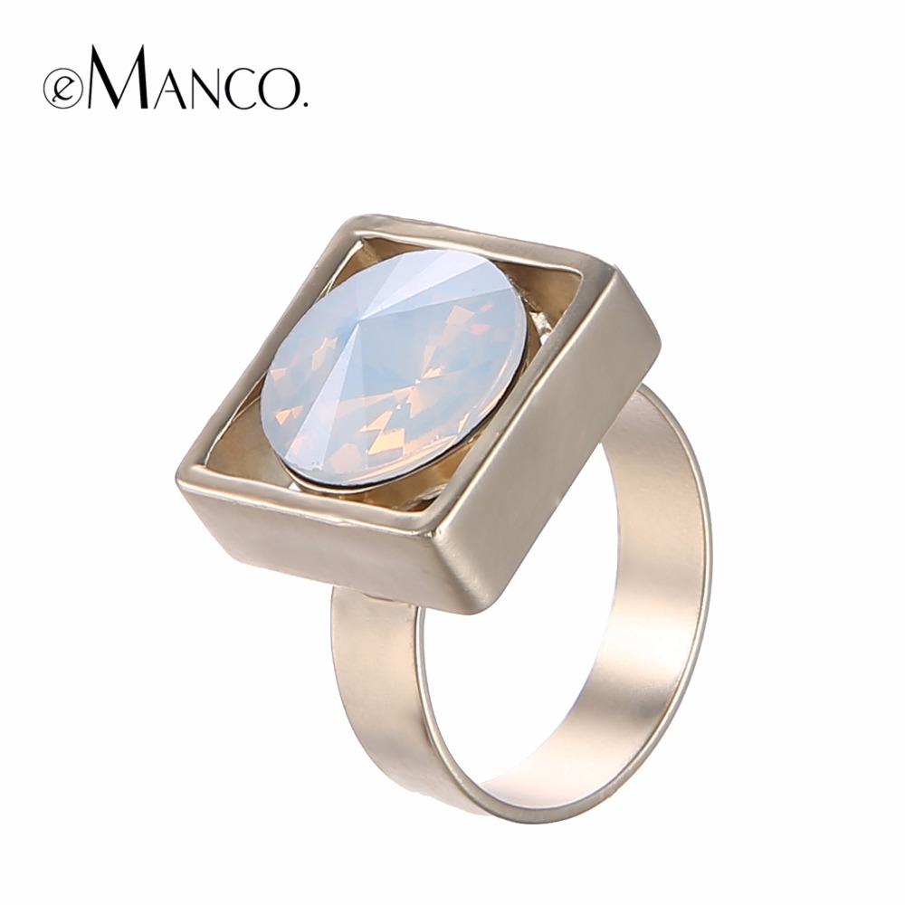 green metal rings adjustable gold ring 2016