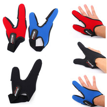 1PC Fishing Finger Two-Finger Protector Elastic Single Casting Right-Hand Glove(China (Mainland))