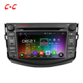 Quad Core HD 1024x600 Android 5 1 1Car DVD Player for Toyota RAV4 2006 2012 Head