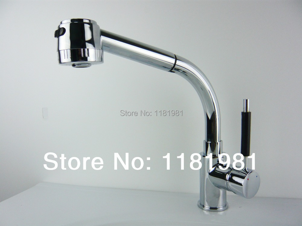 cheap pull out faucet swivel kitchen sink mixer tap spray