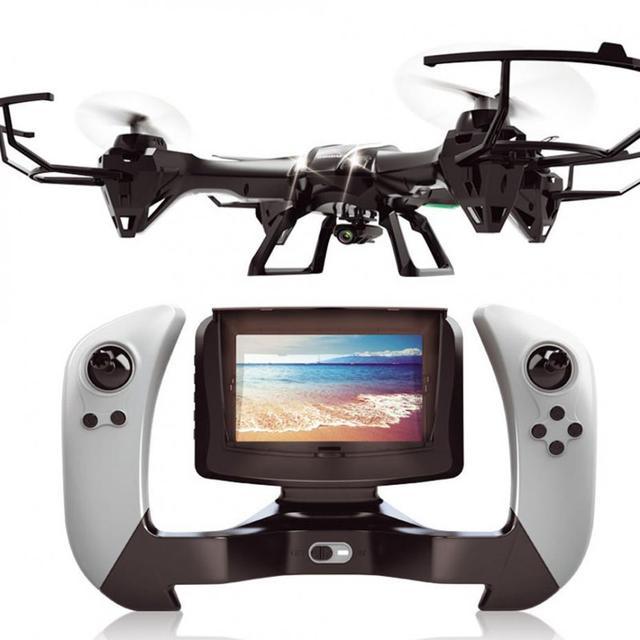 RC Мультикоптер HD Камера RC Вертолет Drone С Камерой HD Симулятор в режиме реального времени передачи WIFI 2.4 Г FPV 4CH 6 Aixs U818S