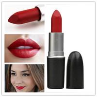 1 stks hotsell beroemde merk 3g langdurige schoonheid matte ruby woo lipsticks professionele makeup waterdichte lipstick cosmetische batom