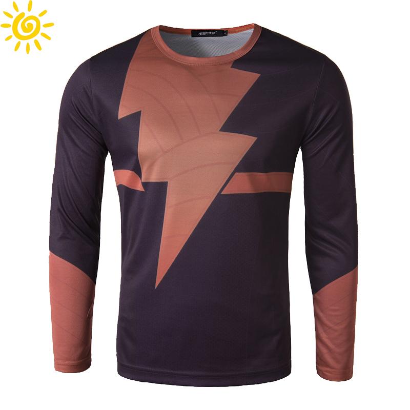 2015 summer popular long sleeve t shirt mens fashion slim for Big mens t shirts