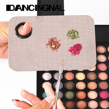 Косметический гвоздь макияж смешивание палетта лопаточка инструмент профессиональный ...