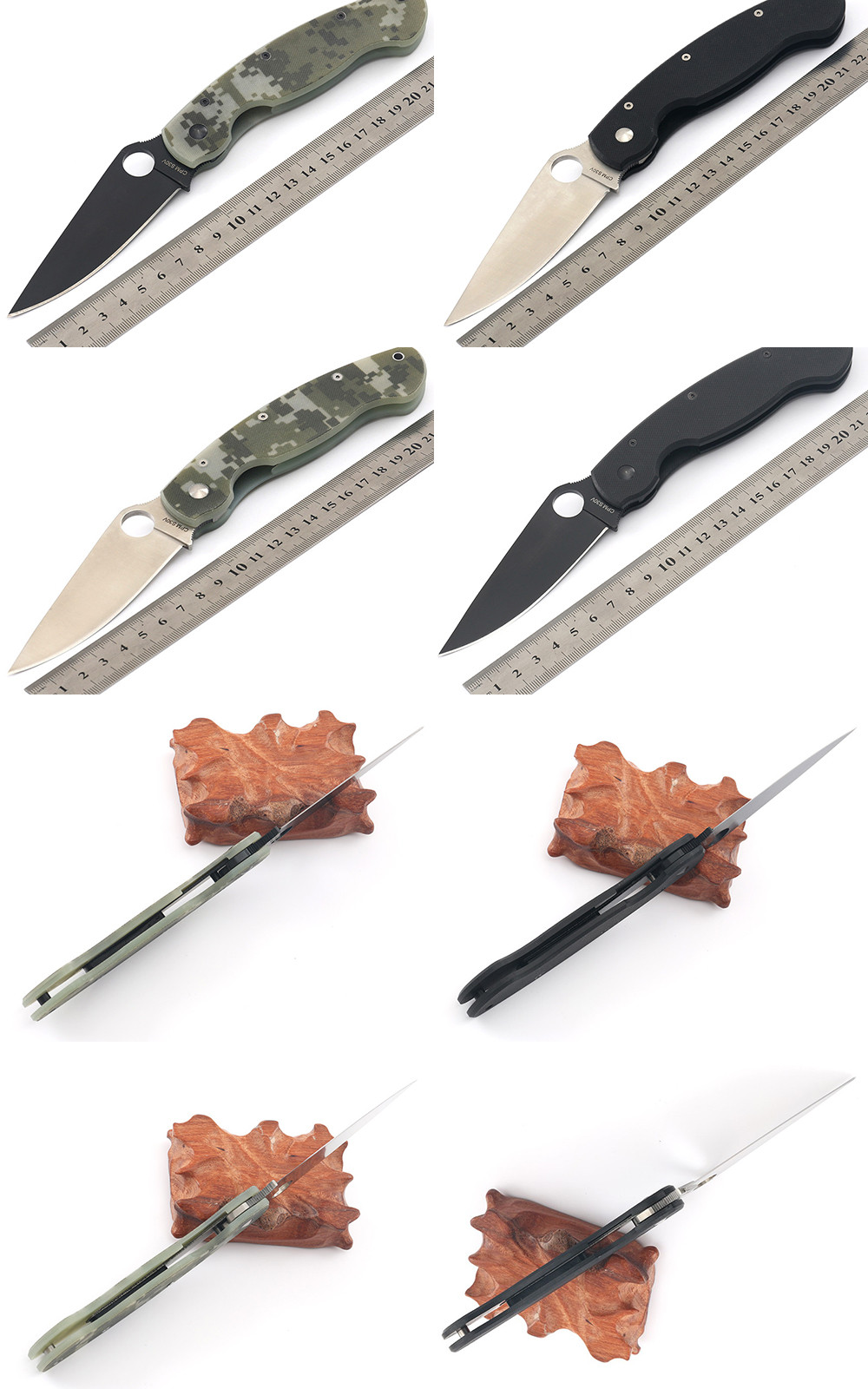 Buy WTT C196 Tactical Folding Knife CPM-S30V G10 Handle Ball Bearing Survival Combat Camping Knives Utility Hunting Pocket EDC Tools cheap