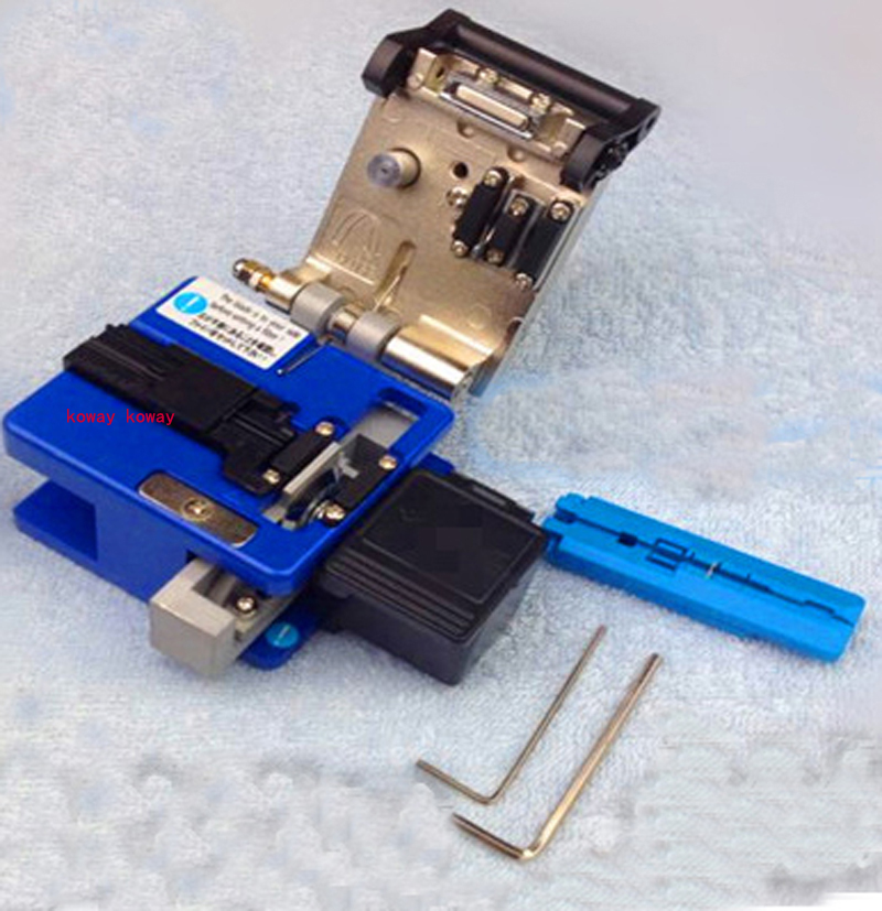SUMITOMO FC-6S Optical Fiber Cleaver fiber cable cutting tools with waste box.cable length stripper(China (Mainland))