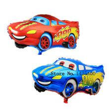 free shipping 1pcs The new  Cartoon Cars Mai Kun aluminum balloons birthday party balloon wholesale cartoon toys(China (Mainland))