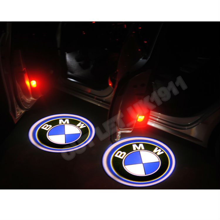coastcloud for bmw led car door logo lights 2 pcs led. Black Bedroom Furniture Sets. Home Design Ideas