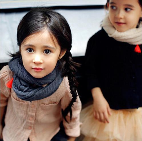 2016 Spring Kids Girl Shirt Cotton Linen Long Sleeve Fashion Children Blouse Infant Vestidos Single Breasted Girl Blouse