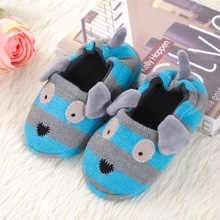 Buy 2-6 Years Kids Thermal Winter Shoes Warm Cartoon Children Antiskid Slippers Boys Girls Plush Indoor Floor Shoes Home Slippers for $6.72 in AliExpress store