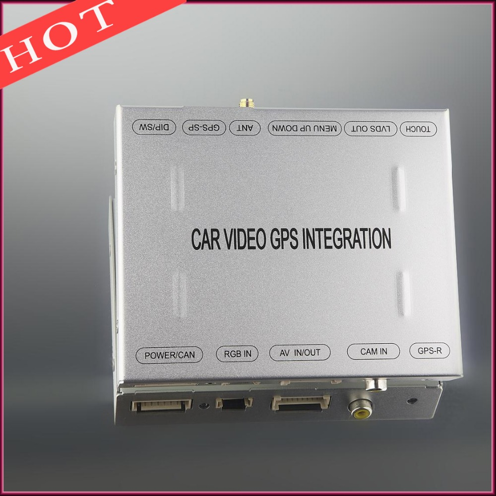 Plug And Play Rear View Camera Video Interface For BMW iDrive CCC 1/3/5/X5/X6 Series<br><br>Aliexpress