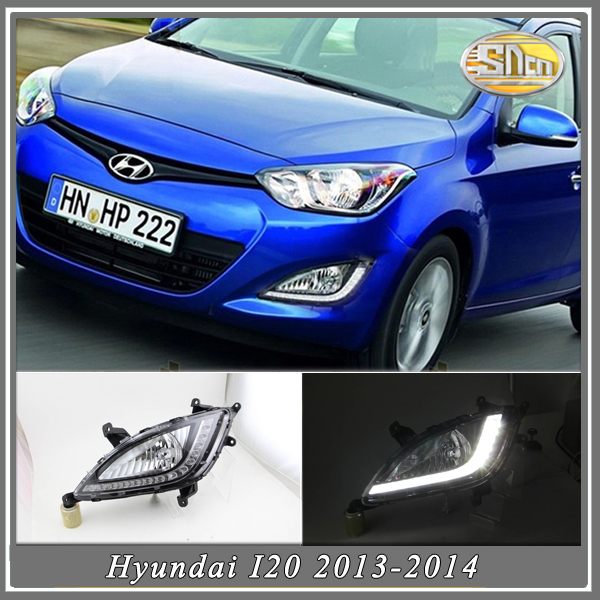 Amazing Price By EMS Freely!!! Hyundai I20 2013-2014 LED Daytime Running light,LED DRL,LED Daylight(China (Mainland))