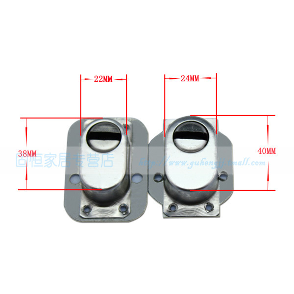 Security door guard locking device retaining lock cover lock cylinder cover universal smart cap large 24 small 22 convenient(China (Mainland))