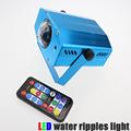 portable mini water wave ripples laser stage lighting lights RGB Adjustment DJ Party Home Wedding Club