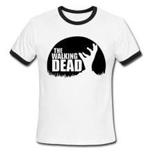 The Walking Dead T-Shirt – Men Cotton O Neck Top Letters Tees