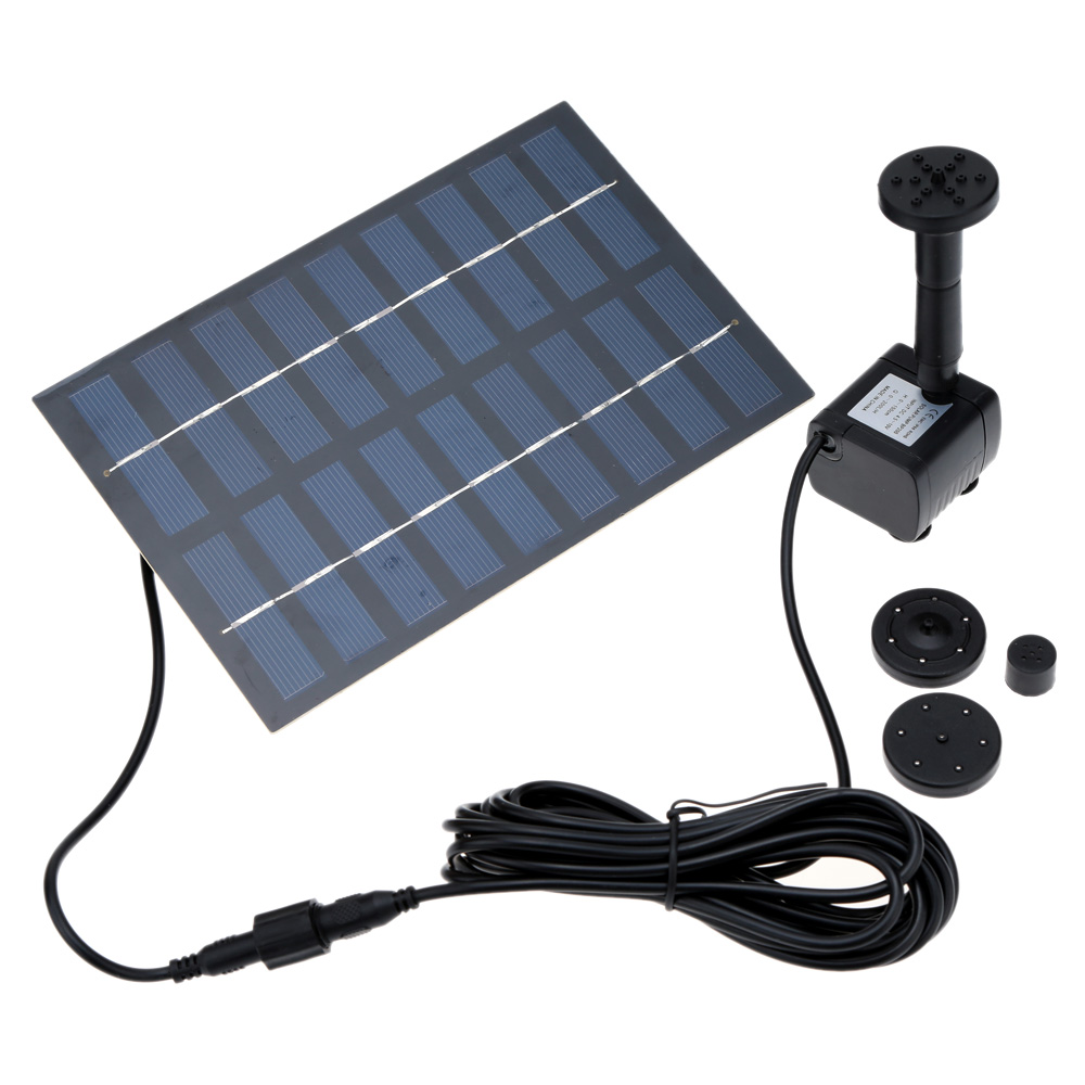 1set Professional Solar Power Pump Fountain Solar Irrigation System Pool Water Pump Garden Plants Sun Plants Watering Pump Kit(China (Mainland))