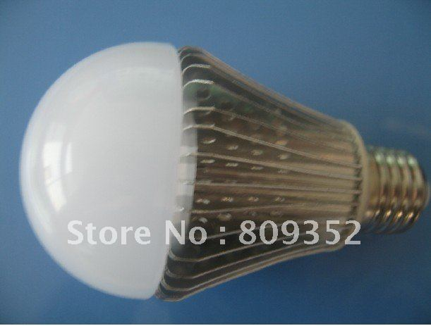 8W SAMSUNG 5630 SMD chip   finned radiator   LED bulbs