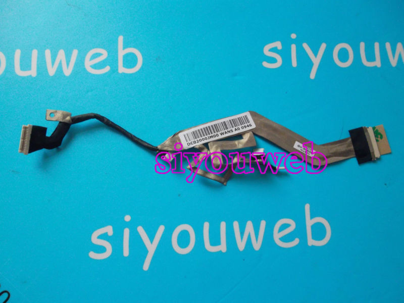 NEW for HP EliteBook 2530p Laptop LED LVDS LCD SCREN VIDEO FLEX CABLE DC02000WF00, free shipping(China (Mainland))