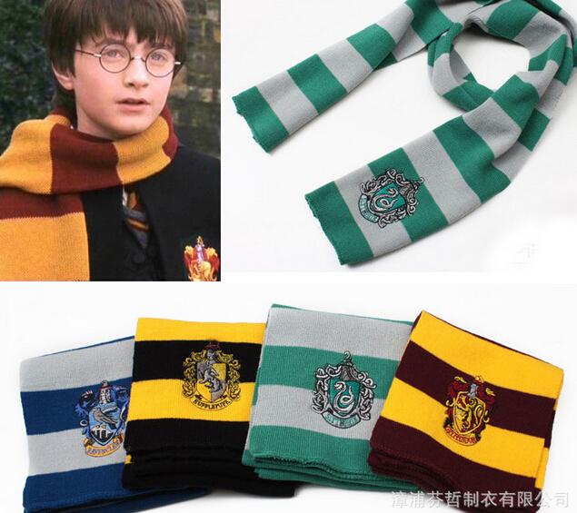 слизерин вязать шарфы