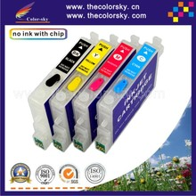 (RCE431-441-454) refillable refill ink cartridge for Epson T0441 – t0444 44 stylus CX6600 CX4600 C64 C66 free shipping