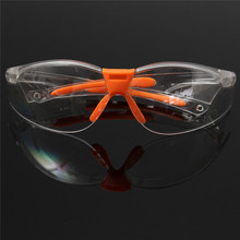 PC Eye Protector Safety Glasses Labor Sand-proof Striking Resistant Dustproof  Security Hot Sale(China (Mainland))