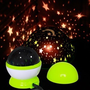 DHL/fedex free shipping New Beautiful Rotation Star Sky Romantic Night Projector Light Lamp with USB cable 60 pieces/lot