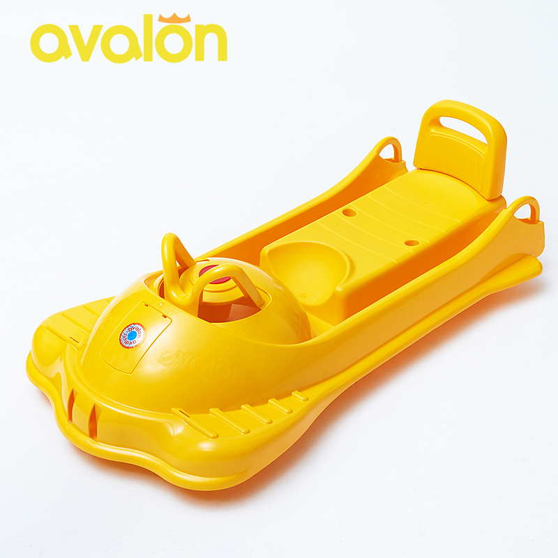 AVALON Multi-function Sled Snow Sledge Kids Thicken HDPE Material Sleigh For Snow Plastic Snow Sled XQ01(China (Mainland))