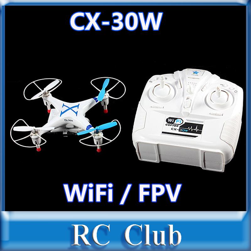 Cheerson CX-30W  CX30W WiFi RC Quadcopter with 6-Axis Gyro / Camera RTF 2.4Ghz<br><br>Aliexpress