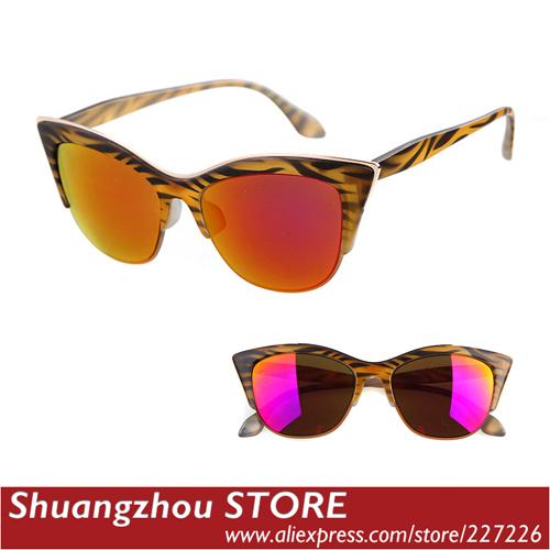 Женские солнцезащитные очки Brand 2015 cateye gafas 5766 женские солнцезащитные очки umode brand designer sun glasses gafas sw0032