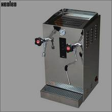 Xeoleo Automatic Milk Foam Machine Commercial Steam Water Boiler Make Espresso Coffee Stainless Steel Teapresso Machine