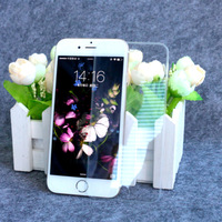 20pcs 3D silicone edge full clear temper glass screen protector film Full cover Anti film For iphone 6 6s/ 6 plus