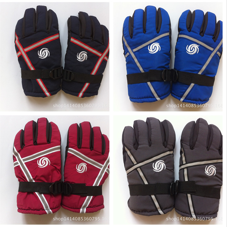 retail kids/chilren' winter gloves warm ski boys/girls sprot waterproof outdoor full/five-finger gloves/mittens - yinglang he's store