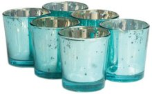 "2.5"" H Mercury Color of Summer Sea Design Glass Votive holder,USD49.92 for 24pcs/Each USD2.08(China (Mainland))"
