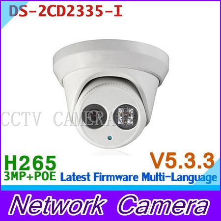 DS-2CD2335-I Multi-language version 3MP CCTV camera POE H.264+, mini dome ip camera 1080P<br><br>Aliexpress