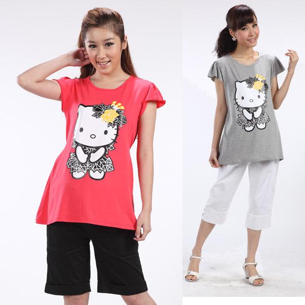 Женская футболка для беременных New Brand 2015 H8728 футболка для беременных printio мишка me to you