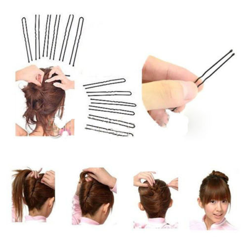 Buy 1black invisible hair clips flat top bobby pins grips for Bobby pin salon