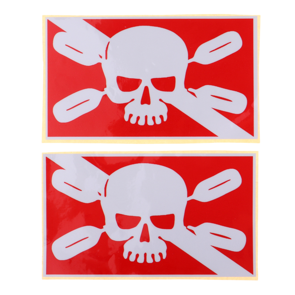 2 Pieces Reflective Adhesive Scuba Diving Diver Kayak Sticker Decal for Dive Tank Cylinder Flippers Snorkeling Swim Water Sports