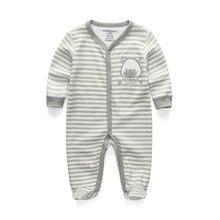 2018 одежда для малышей хлопковый Детский комбинезон с длинными рукавами, костюм с героями мультфильмов ropa bebe, Одежда для новорожденных мальч...(China)