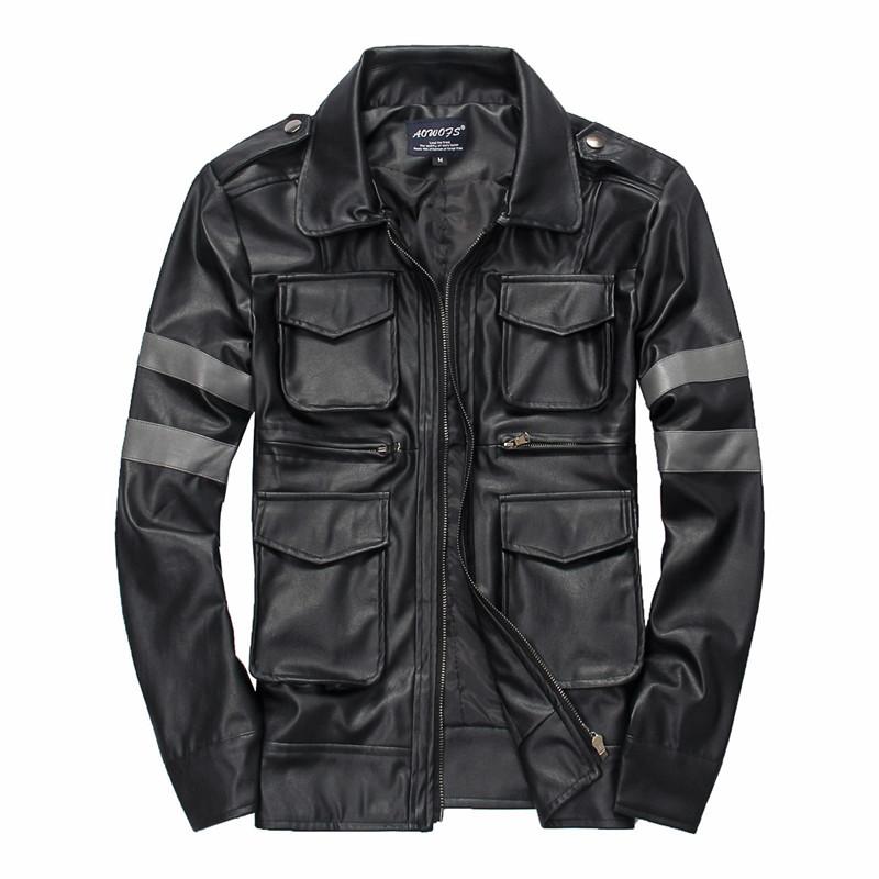Military Leather Jackets - Jacket
