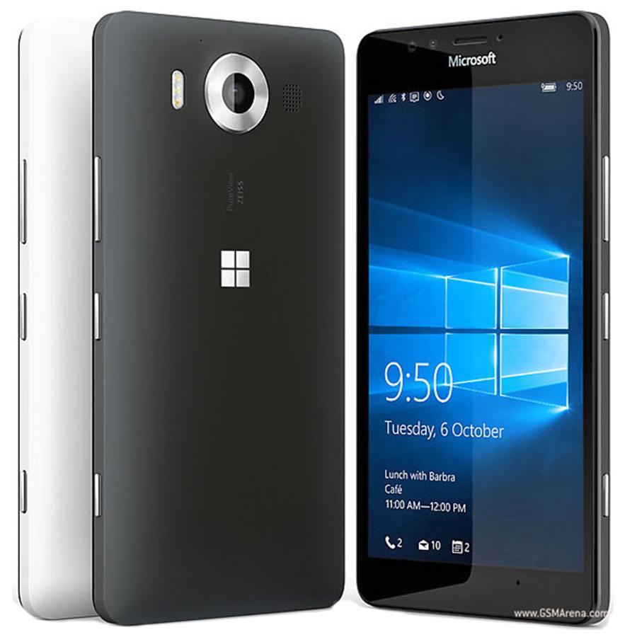 "100% Original Microsoft Lumia 950 20MP Camera NFC Quad-core 32GB ROM 3GB RAM mobile phone LTE FDD 4G 5.2"" 2560x1440 pixels(China (Mainland))"
