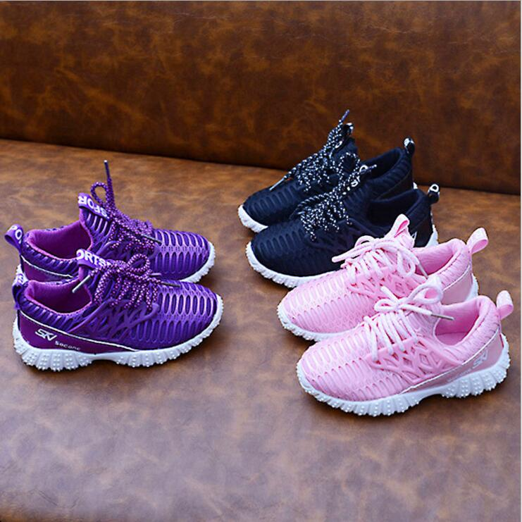 2017 Child Casual Shoe Girls Boys Yeezy Shoes Kids Sneakers Boys and Girls Sport Shoes Fashion Children Boy Mesh Sneakers(China (Mainland))