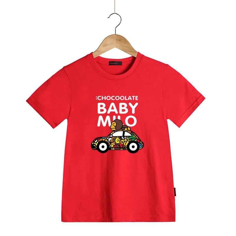 Kids Fashion Summer Baby Milo T Shirt Children Cotton Tee Shirts Cute Cartoon Summer Sotton Short Sleeve T-shirt for Boys Girls(China (Mainland))