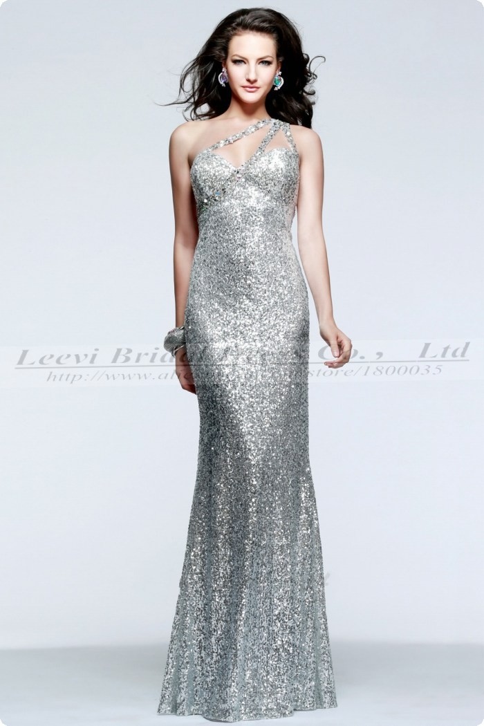 silver evening dresses_Evening Dresses_dressesss